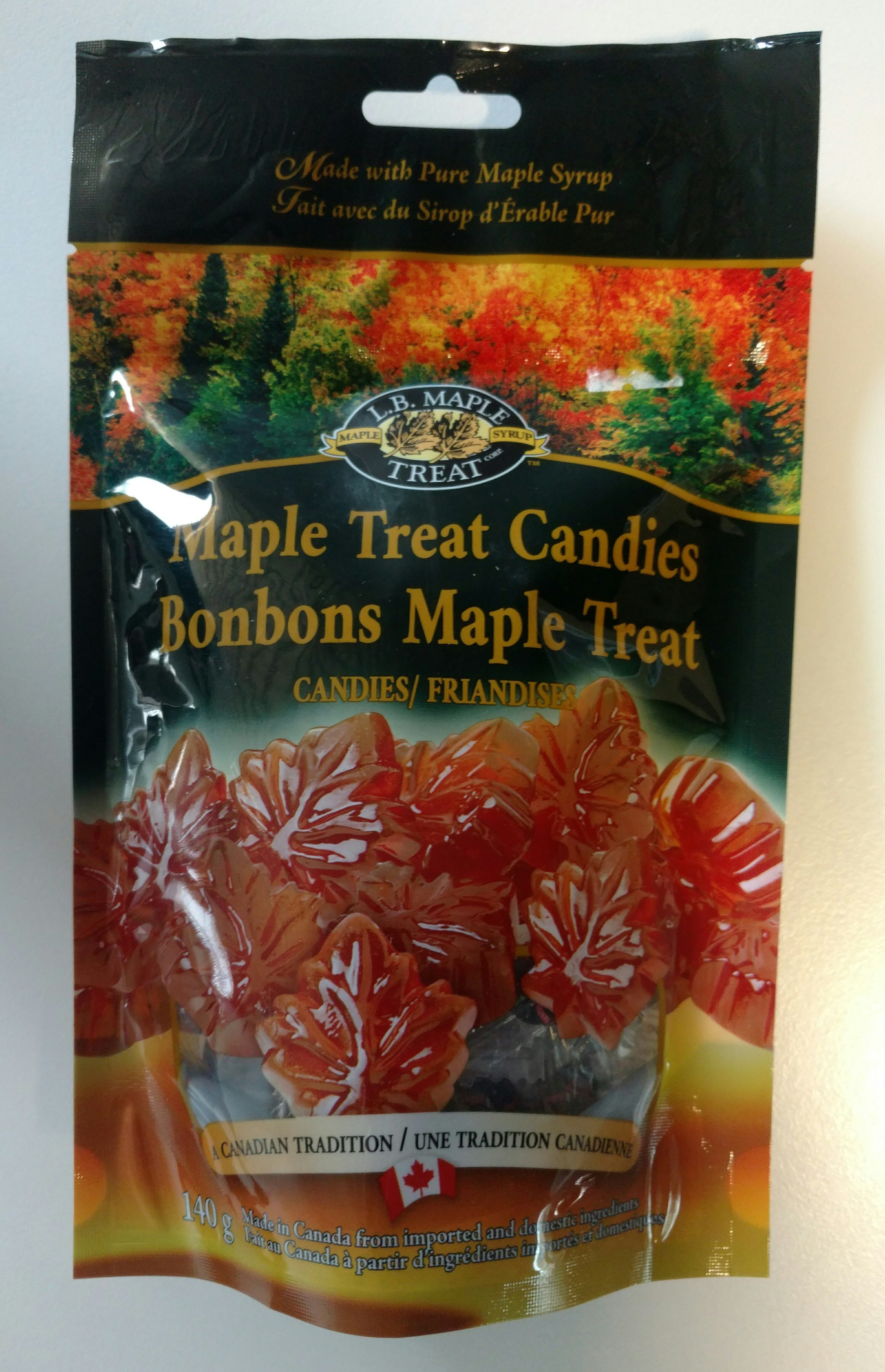 Maple Treat Candies - Product