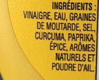Moutarde - Ingrédients - fr