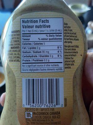 Moutarde préparée - Product - fr