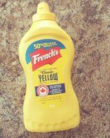 Yellow mustard - Produit - fr