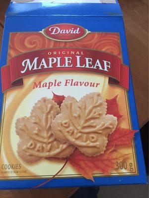 Biscuits (feuille D'érable) - Product - fr