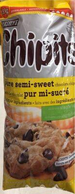 Grains de chocolat pur mi-sucré - Produit - en