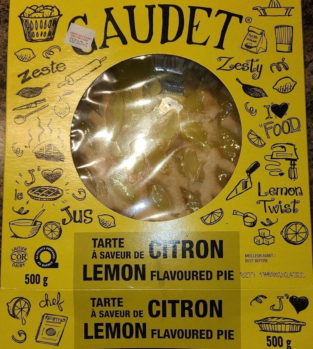 Tarte a saveur de citron - Produit - fr