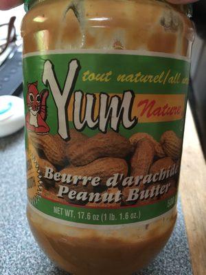 Beurre d'arachide crémeux - Product