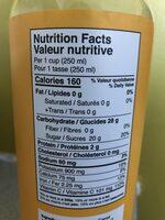 Loop - Nutrition facts - en