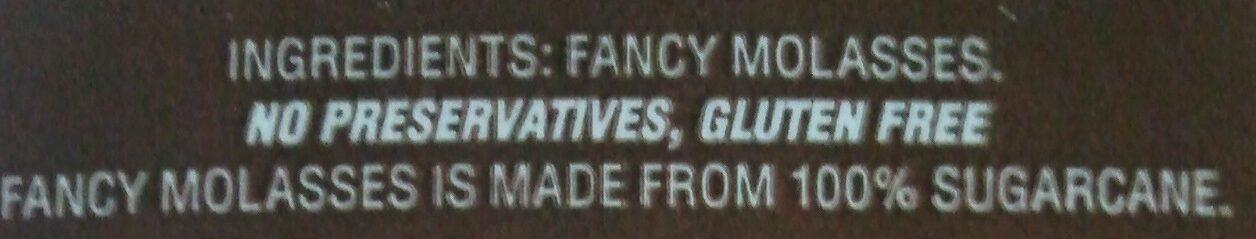 Crosby's 100% Natural Fancy Molasses - Ingrediënten - en