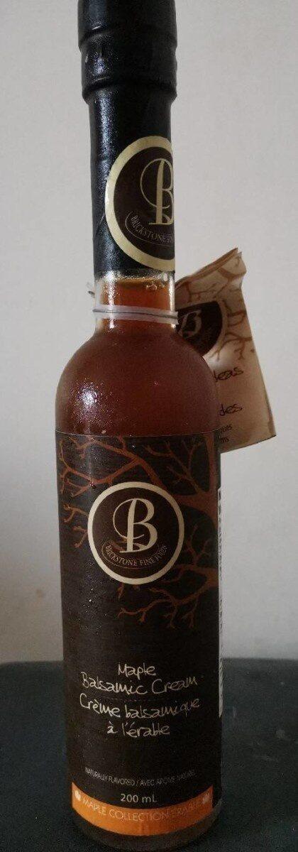 Crème balsamique à l'érable - Prodotto - fr