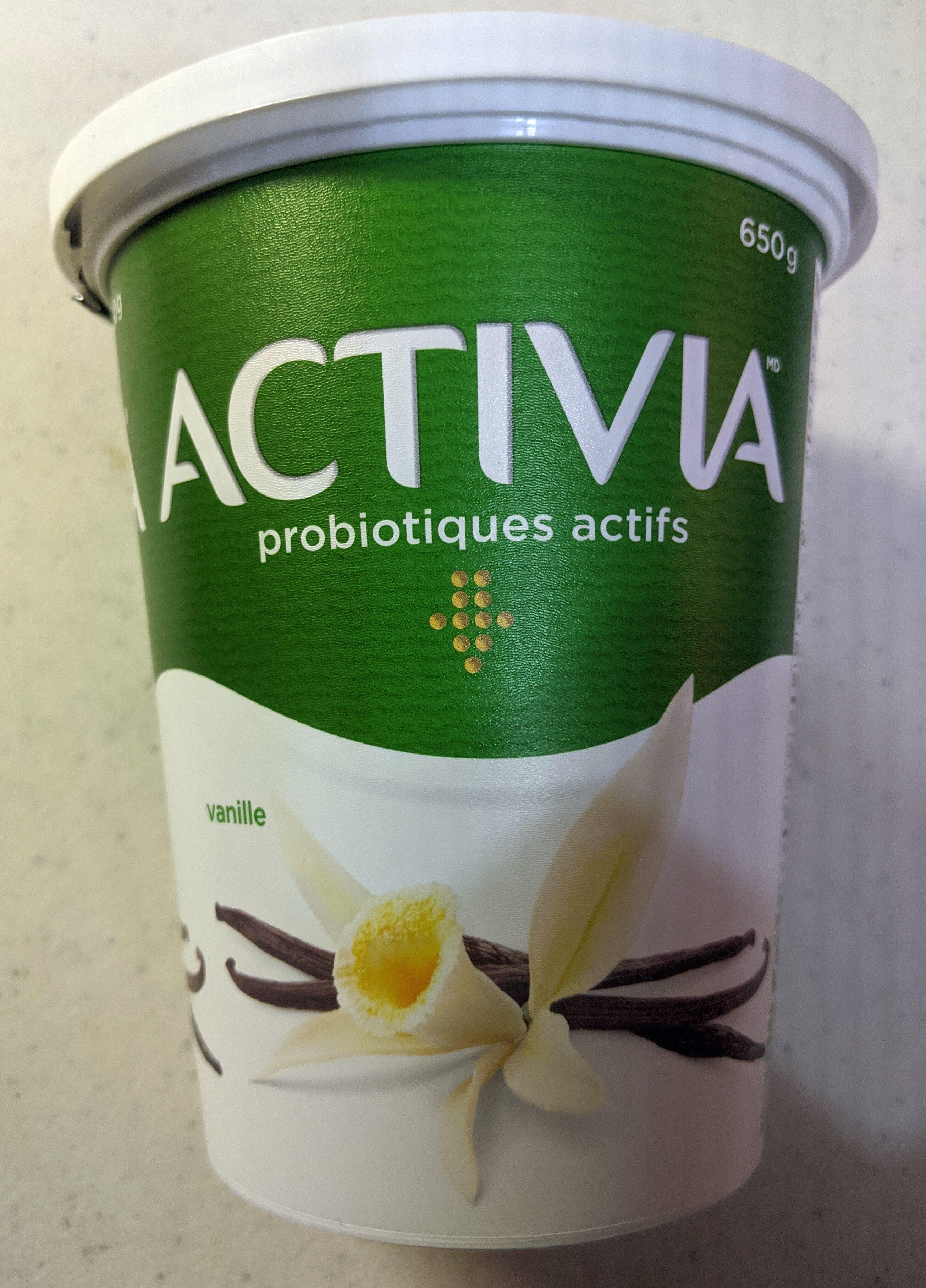 Activia Active Probiotics Vanilla - Produit - fr