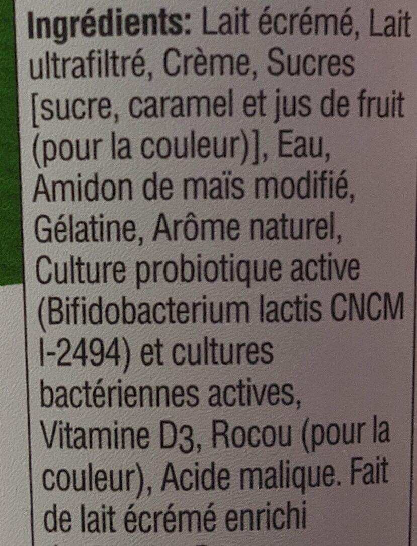 Activia Active Probiotics Vanilla - Ingrédients - fr