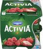 Yogourt Probiotique Activia (fraises, Framboises) - Produit