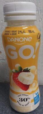 Yogourt à boire fraise banane - Product - fr