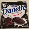 Danette chocolat noir - Product