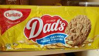 Classic oatmeal cookies, classic oatmeal - Product - en