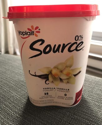 Source 0% MG Vanille - Produit - fr