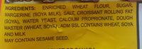 Mini Latino Croissants - Ingredients - en