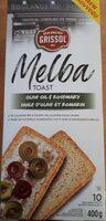 Toast melba huile d'olive et romarin - Product - fr