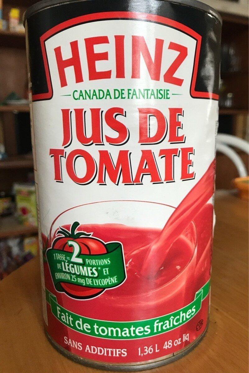 Jus de tomate - Product - en