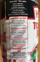 Jus de tomate - Ingredients - en