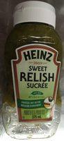 Sweet Relish - Produit - fr