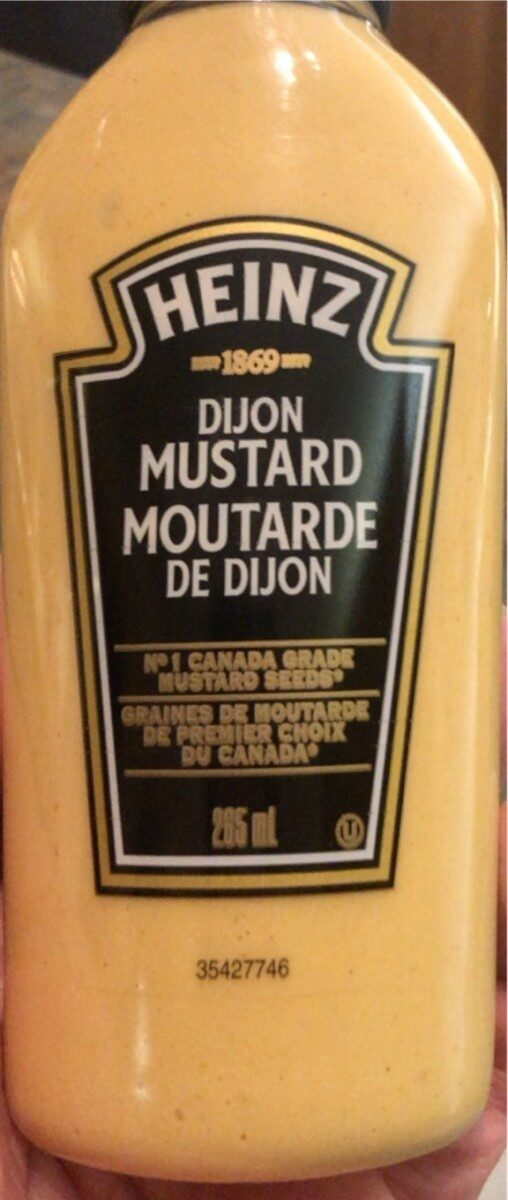 Moutarde de dijon - Product - en