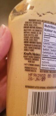 Moutarde de dijon - Ingredients - en