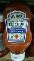 Ketchup Sans Sucre Ajouté - Product - fr