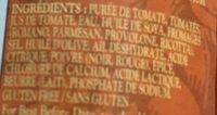Sauce Pour Pâtes (4 Fromages) - Ingrédients - fr