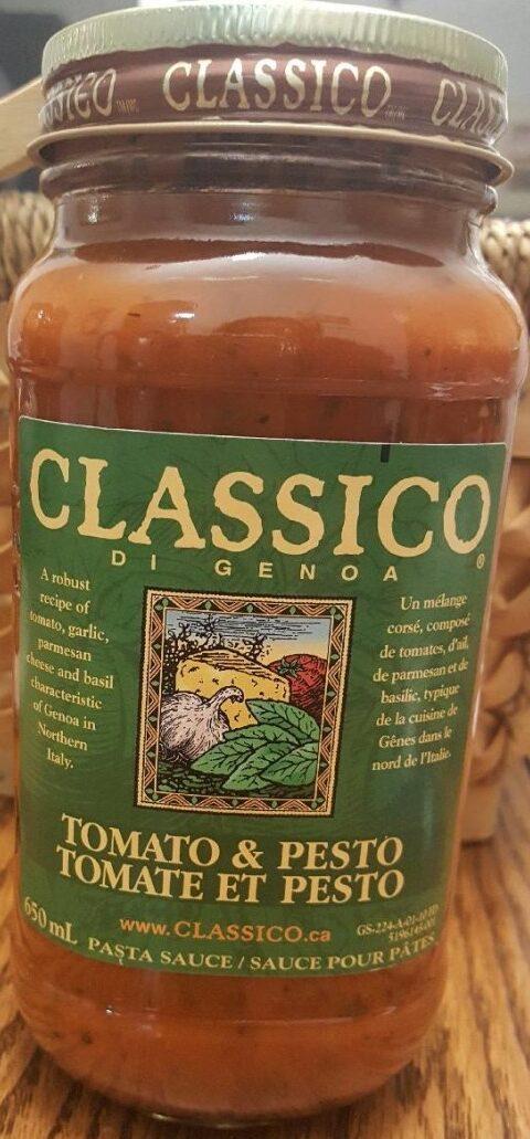Sauce Tomate et Pesto - Produto - fr