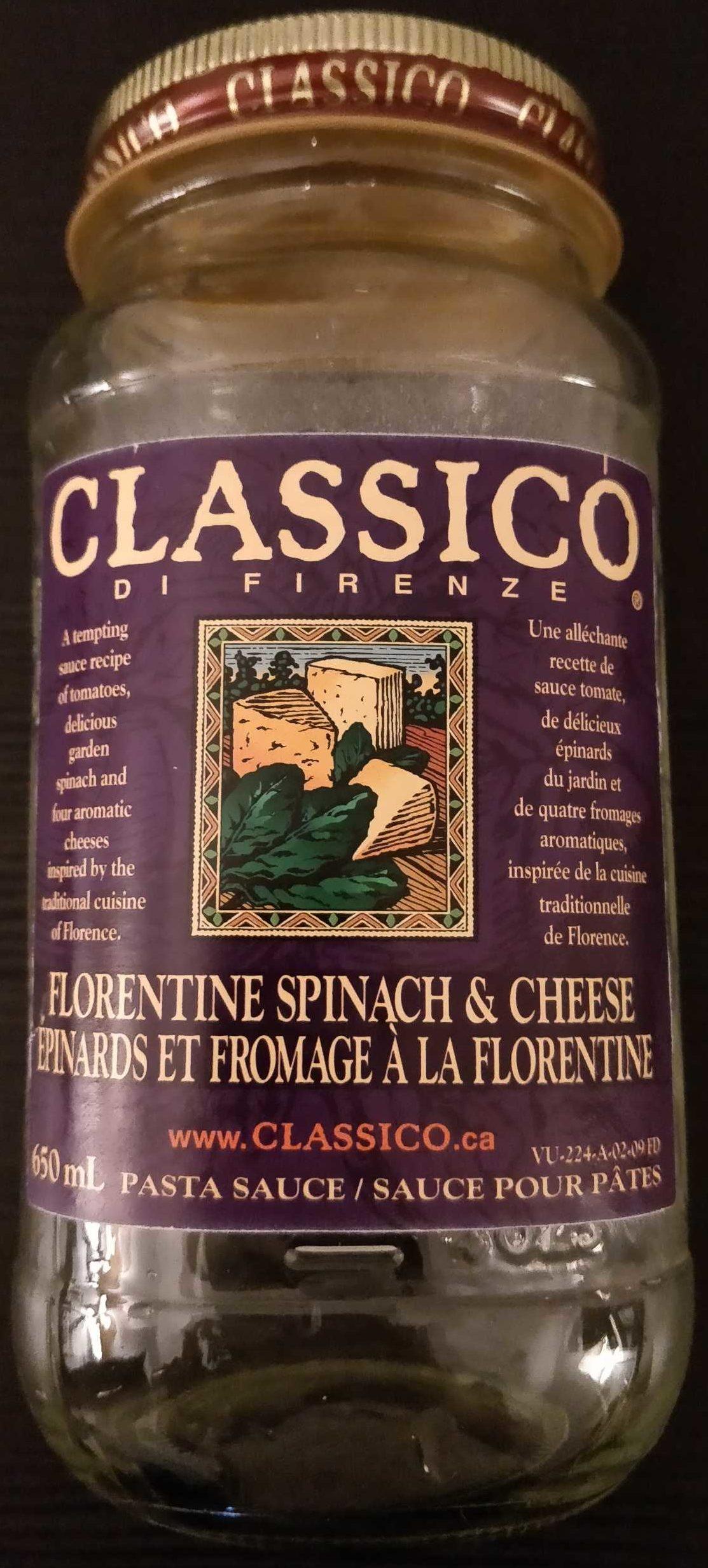 Classico di Firenze − Épinards et fromage à la florentine - Product