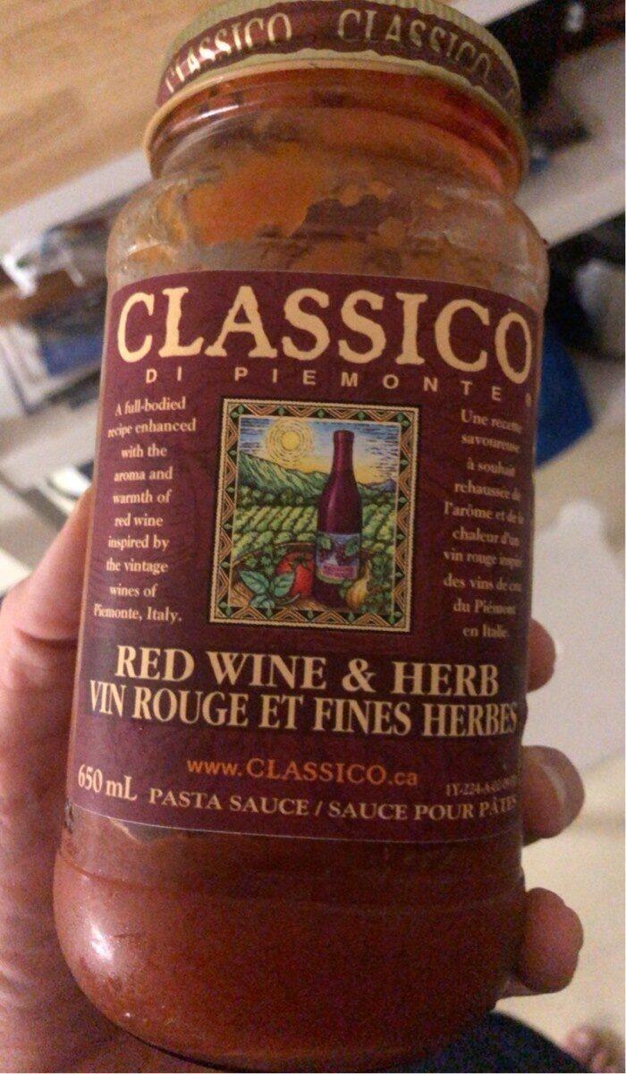 Sauce vin rouge et fines herbes - Produit - fr