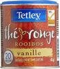 Tetley Thé Rouge Rooibos Vanille 20 Sachets De Thé - Product