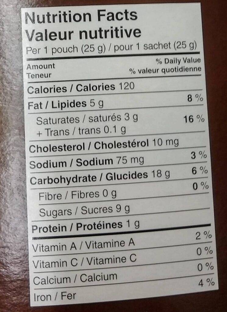 Mr. Mini Cookies Vanilla with Chocolate Drizzle - Nutrition facts - en