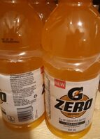 Gatorade zero - Product - fr
