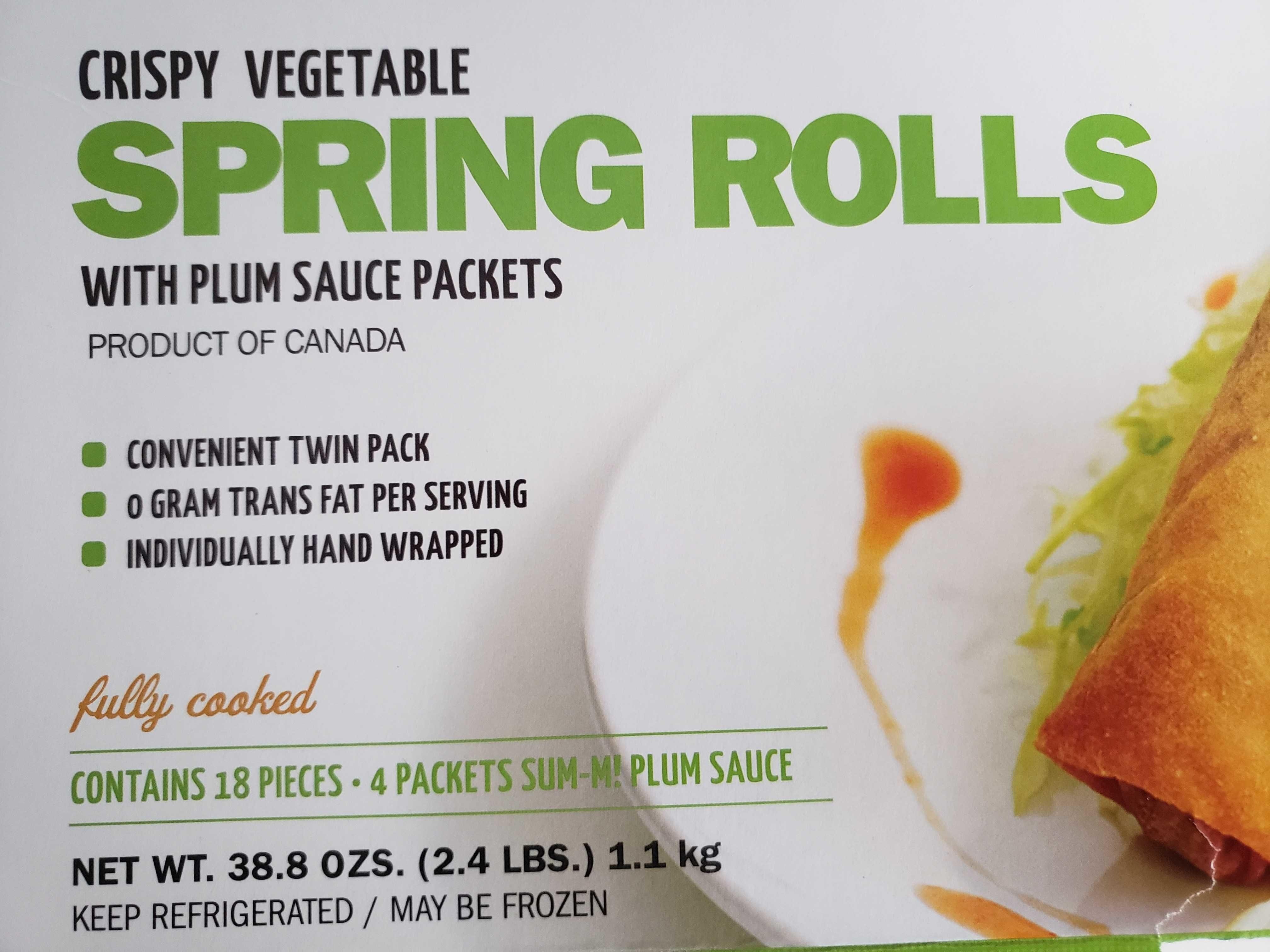 Spring roll - Produit - en