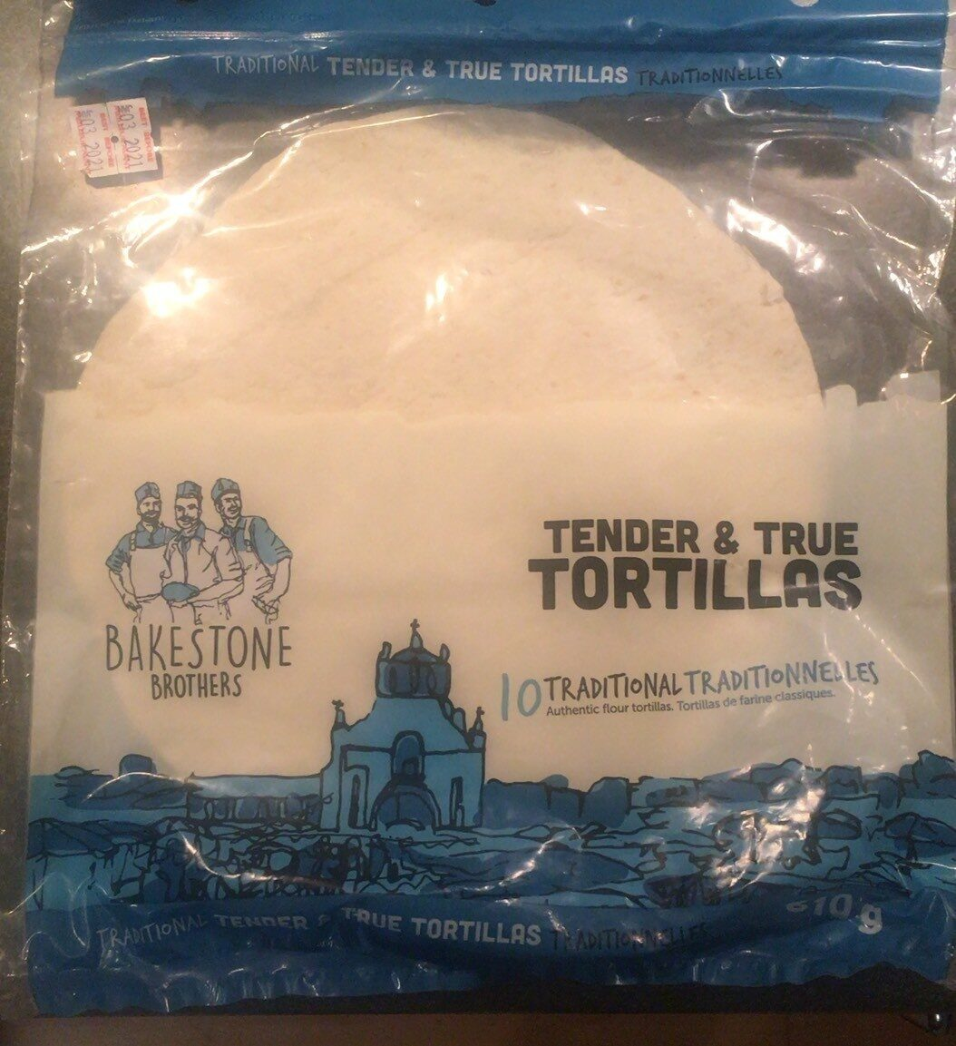 Traditional Tortillas - Product - fr