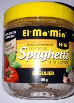 Mélange D'épices Pour Sauce H-16 (spaghetti à La Viande) - Produit