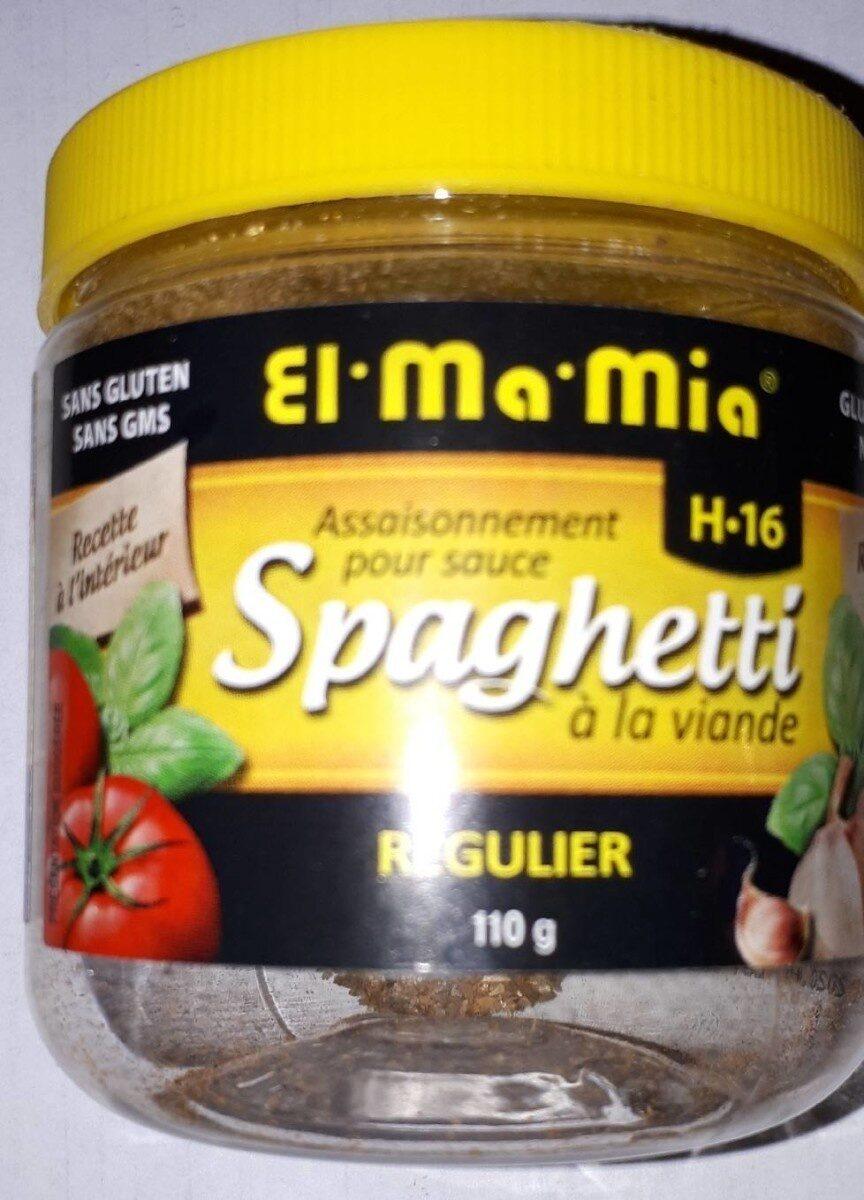 Mélange D'épices Pour Sauce H-16 (spaghetti à La Viande) - Informations nutritionnelles - fr