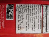 Demi pain ciabata - Ingrediënten - fr