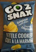 Go 2 Snax Original Potato Chips - Produit - fr