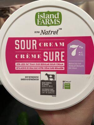 Island Farms sour cream - Product - en