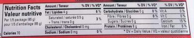 Medium Firm Tofu - Nutrition facts - en