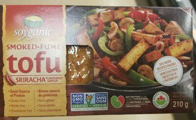 Soyganic Smoked Tofu Sriracha - Prodotto - fr