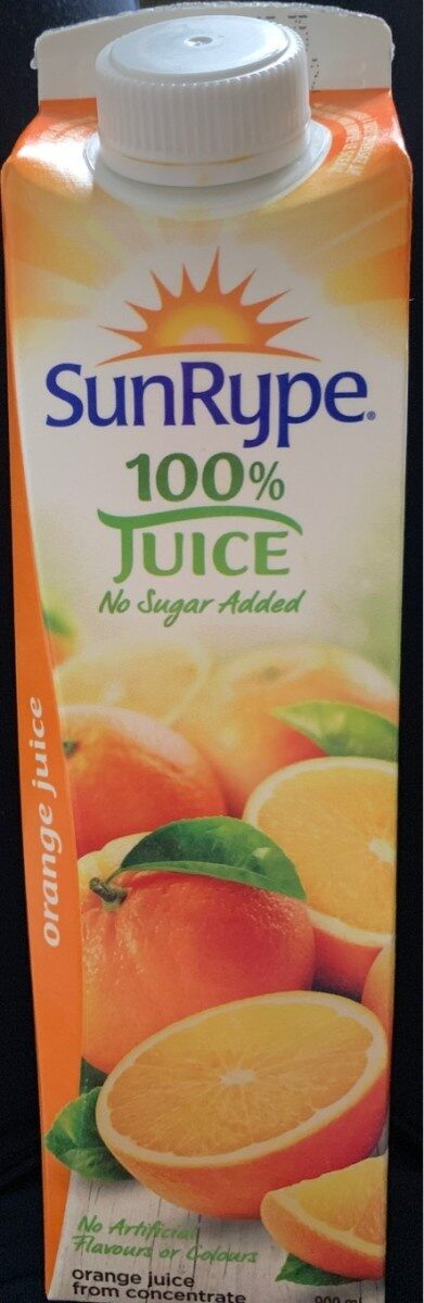 Orange juice 100% juice - Produit - fr