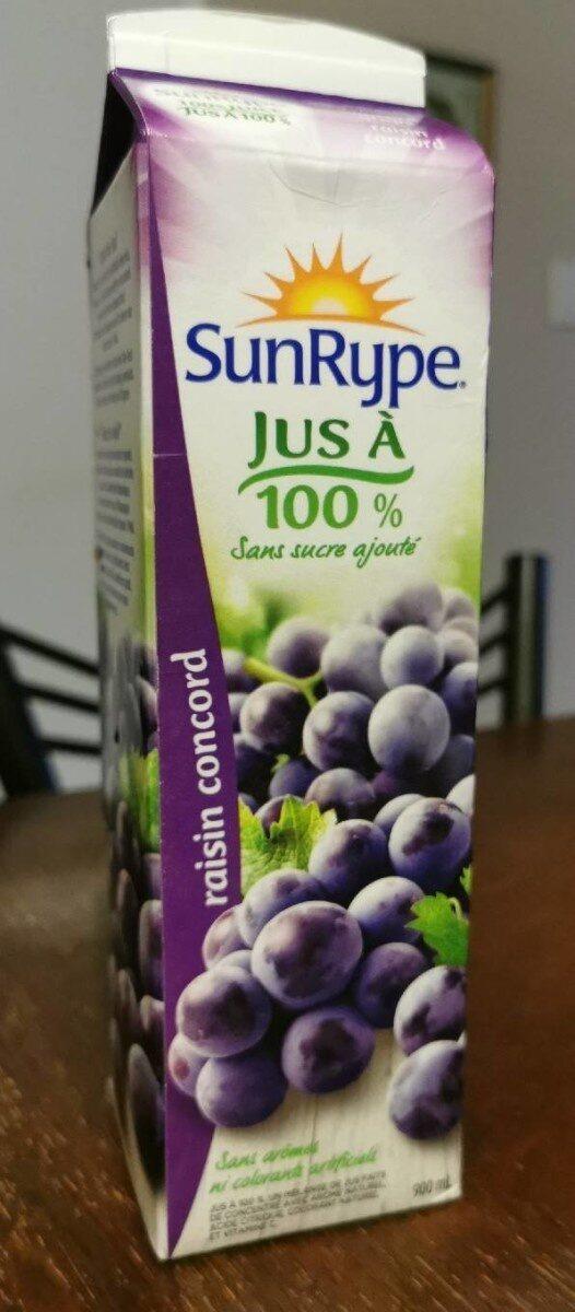 Jus à 100% sans ajout de sucre - Product - fr