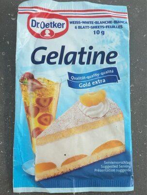 Gelatine - Produit - en
