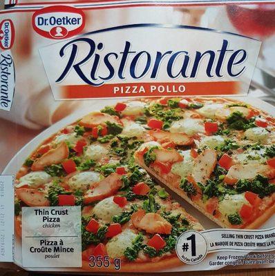 Ritorante pizza pollo - Produit