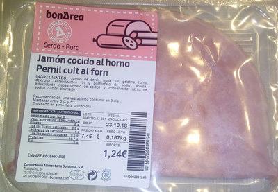 Jamon cocido al horno - Producto - es