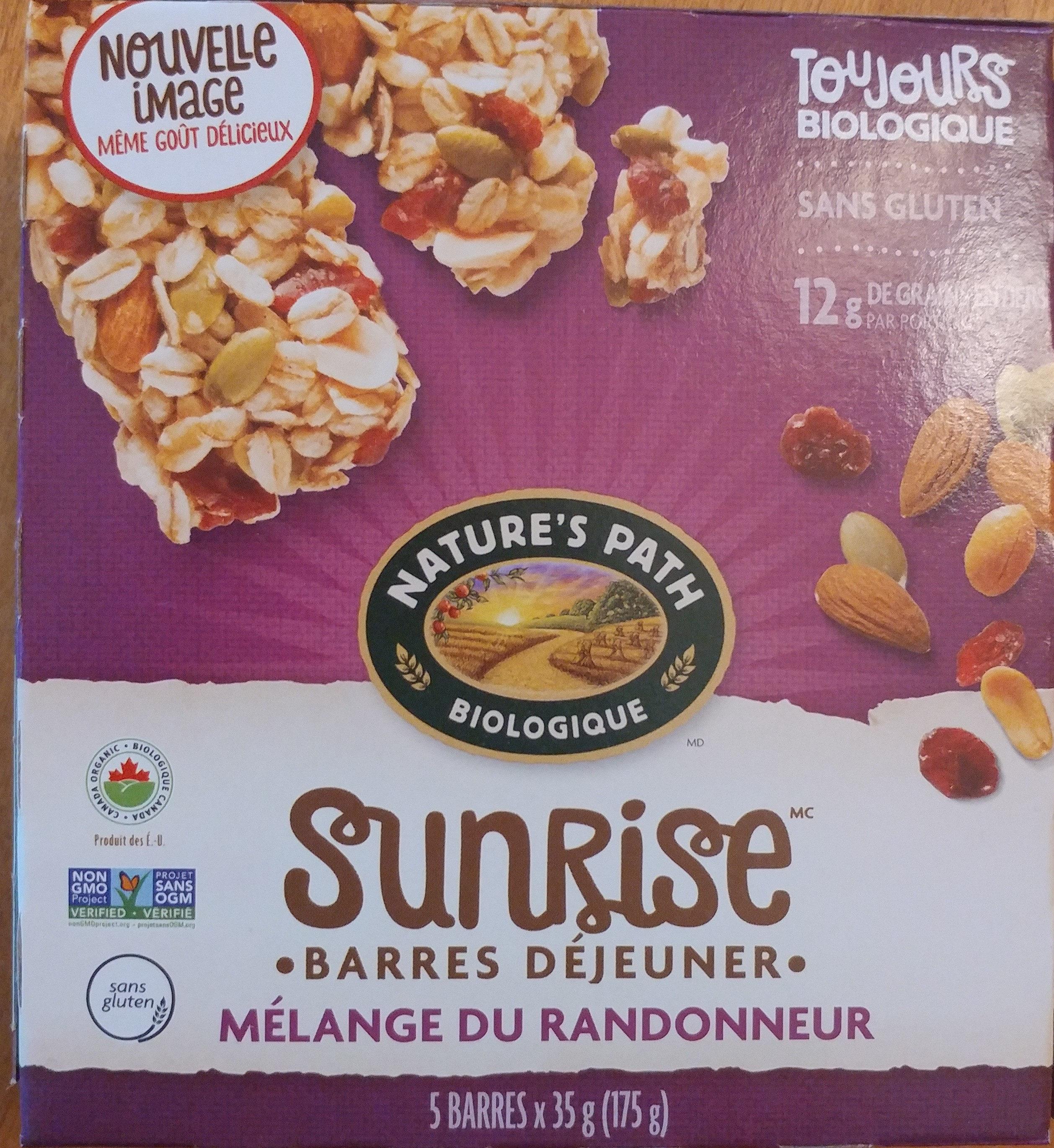 Sunrise mélange du randonneur - Product - fr