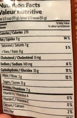 Love Crunch - Nutrition facts - en