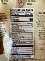 Vanilla pumpkin seed - Nutrition facts - es